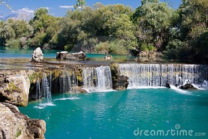 manavgat watervallen