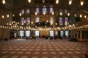 moskee van binnen
