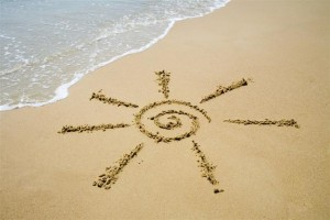 zon op turks strand