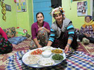 Eten bij Turken thuis