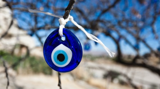evil eye in tree
