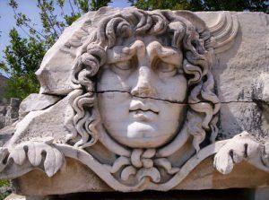 medusa gezicht