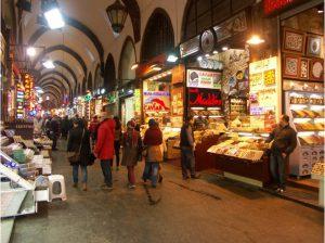 De Egyptische bazaar