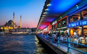 uitzicht galatabrug istanbul