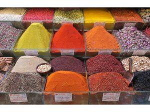 Kruiden op de bazaar